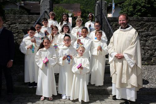 1ère Communion 2017 Muraz