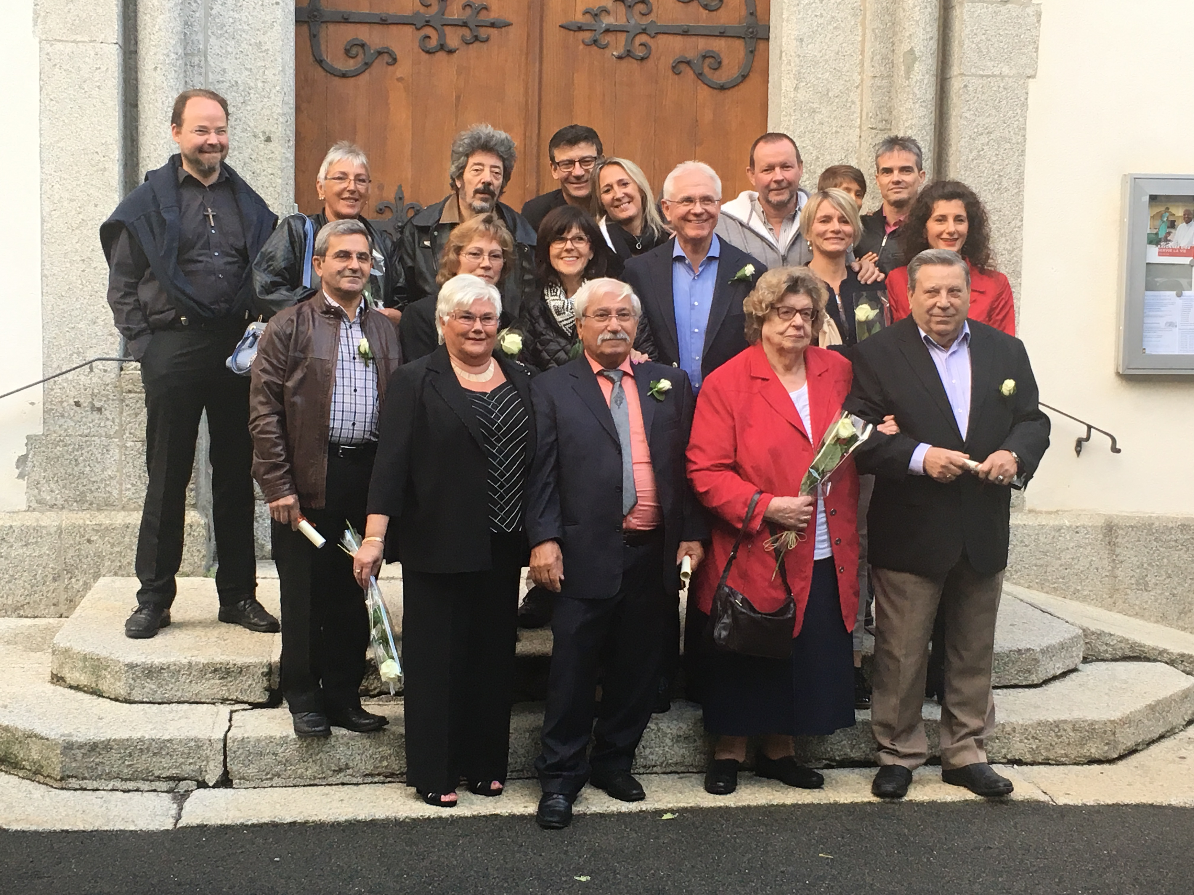 Jubilaires mariages 2017